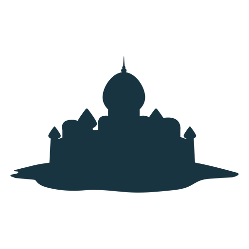 Palace tower gate roof spire dome silhouette architecture Transparent PNG
