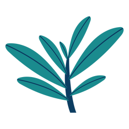 Planta arbustos de árvore folha planta plana