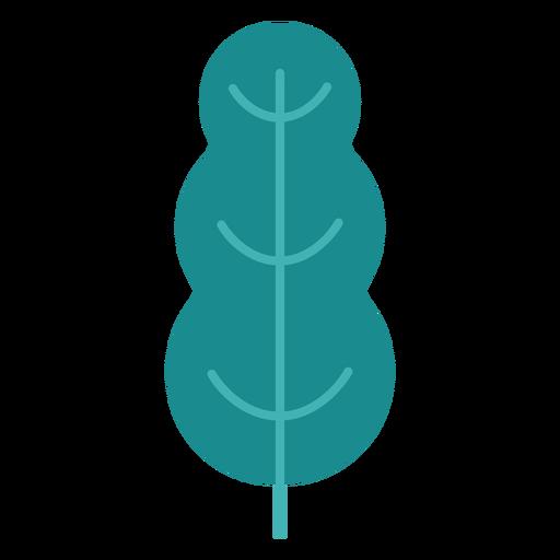 Plant tree leaf bushes flat plant Transparent PNG