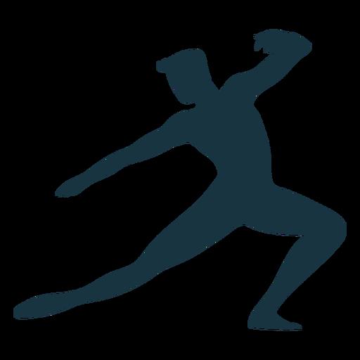 Posture grace ballet silhouette ballet Transparent PNG