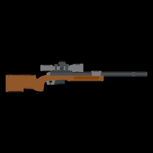 Cargador de rifle cañón arma culata pistola plana Transparent PNG