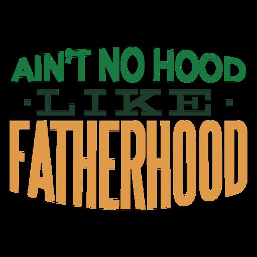 Não há capa como emblema da paternidade adesivo Transparent PNG