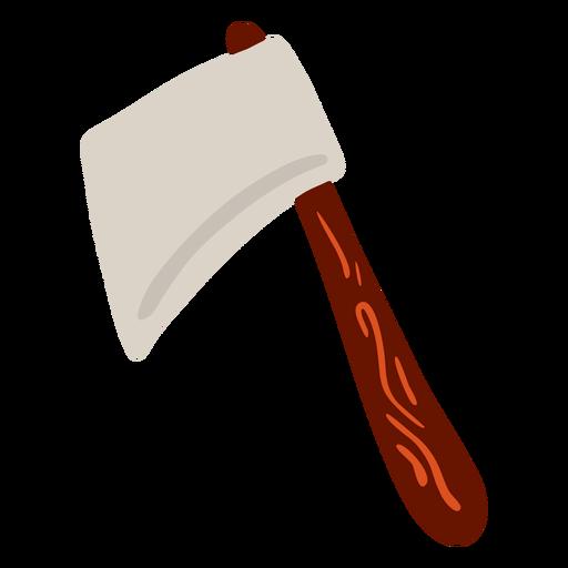 Axe tomahavk blade flat
