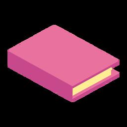Página del libro manual plana