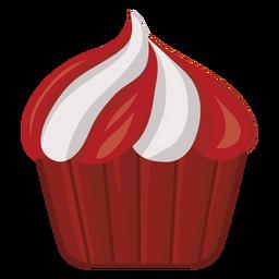 Etiqueta engomada de la insignia de pastel