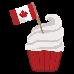 Etiqueta do emblema do bordo da folha da bandeira do bolo