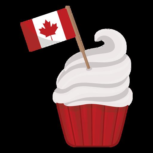 Cake flag leaf maple badge sticker Transparent PNG