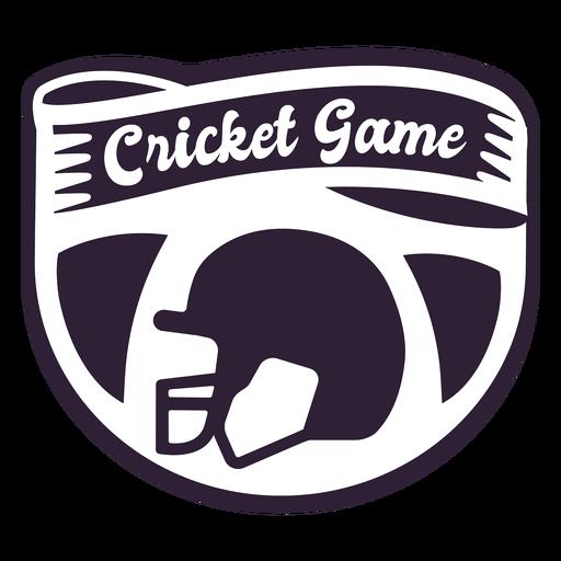 Insignia de casco de juego de Cricket Transparent PNG