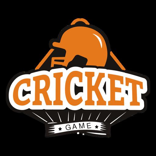 Insignia de estrella de casco de juego de Cricket Transparent PNG