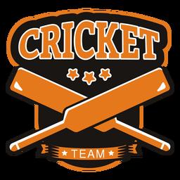 Cricket Team Bat Star Abzeichen Aufkleber