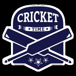 Etiqueta do emblema da estrela do bastão do tempo do adesivo