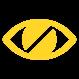 Autocolante de distintivo de aluno cego de olho