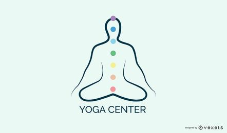 Yoga-Center-Logo-Vorlage