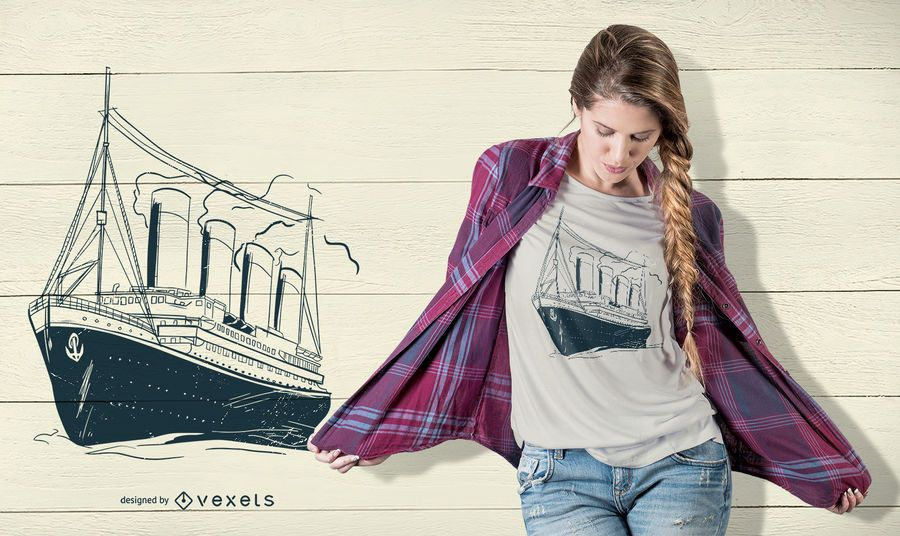 Vintage cruise t-shirt design