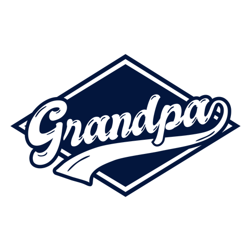 Insignia del abuelo Transparent PNG