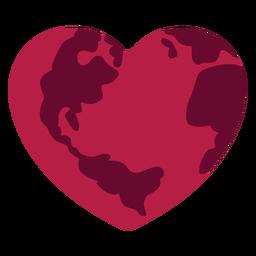Etiqueta engomada de la insignia del corazón