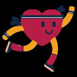 Herzübung Abzeichen Aufkleber