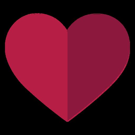 Coração liso Transparent PNG