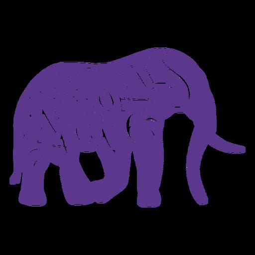 Keep memories alive elephant sticker badge