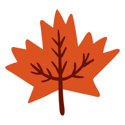 Leaf maple flat