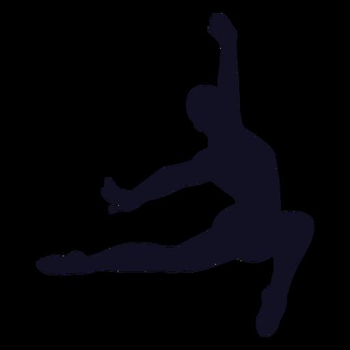 Hombre ejercicio gimnasta silueta Transparent PNG