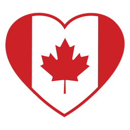 Maple leaf heart stroke