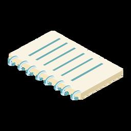 Cuaderno agenda agenda diario plana