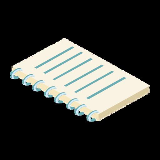 Notebook datebook copybook diary flat Transparent PNG