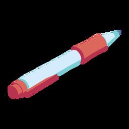 Caneta ampola ampola de tinta plana