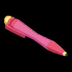 Ampola de tinta de caneta ampola plana