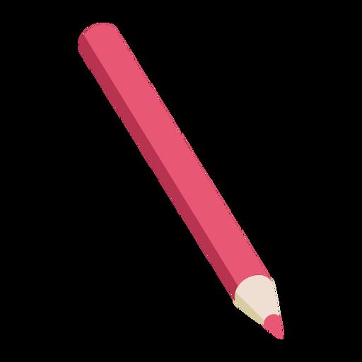 Lápiz rojo pizarra lápiz plano Transparent PNG