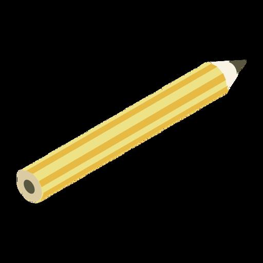 Pencil sharp slate pencil flat