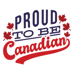 Stolz darauf, kanadischer Ahornblatt-Abzeichenaufkleber zu sein