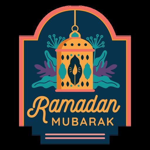 Ramadan mubarak candle lamp lantern light badge sticker Transparent PNG
