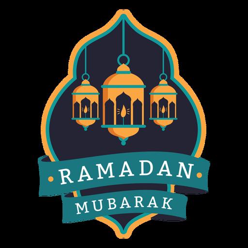 Ramadan mubarak light lamp candle badge sticker Transparent PNG