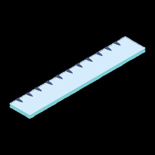 Regla centímetro plana Transparent PNG