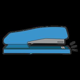 Grapadora perforadora plana