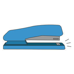 Perfurador de grampeador plano