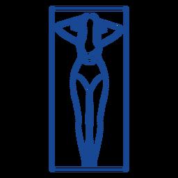 Curso de almofada tapete mulher tapete