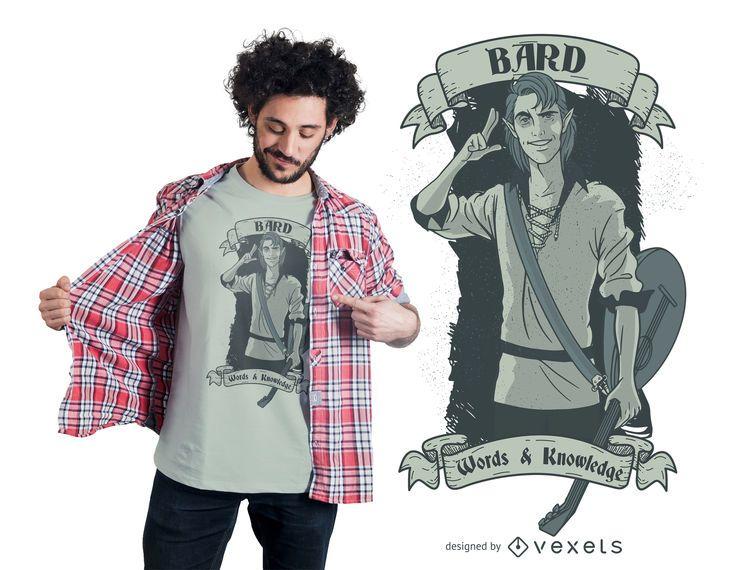 Bard t-shirt design