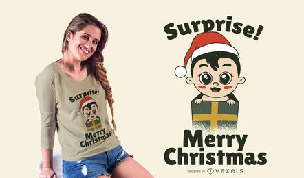 Baby Geschenk T-Shirt Design