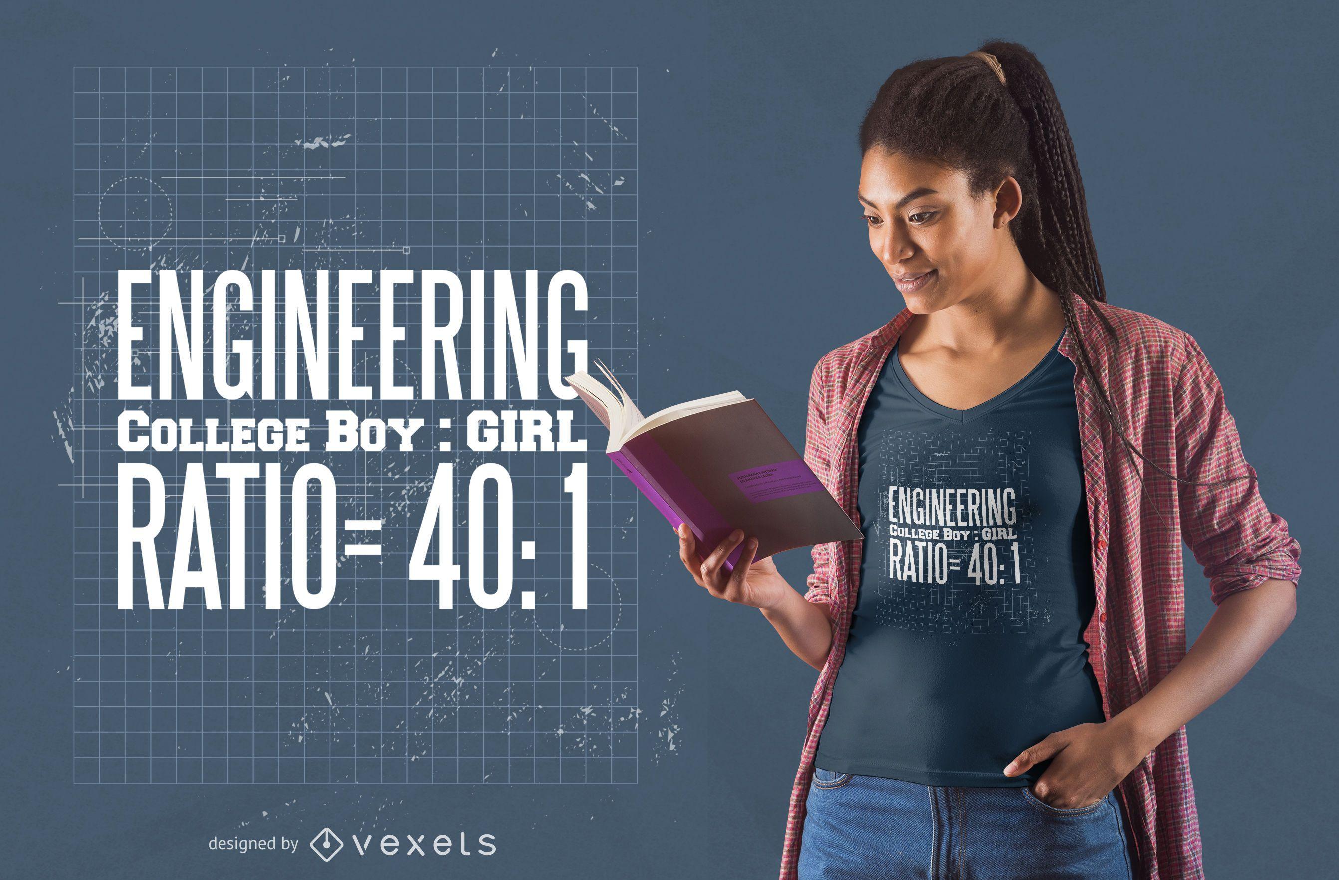 Engineering t-shirt design