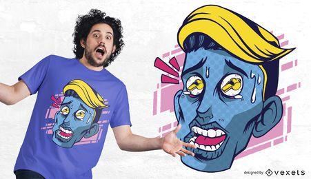 Pfeife mustert T-Shirt Entwurf