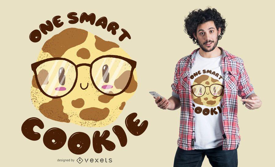 Smart Cookie T-shirt Design