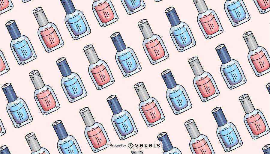 Nail polish pattern design
