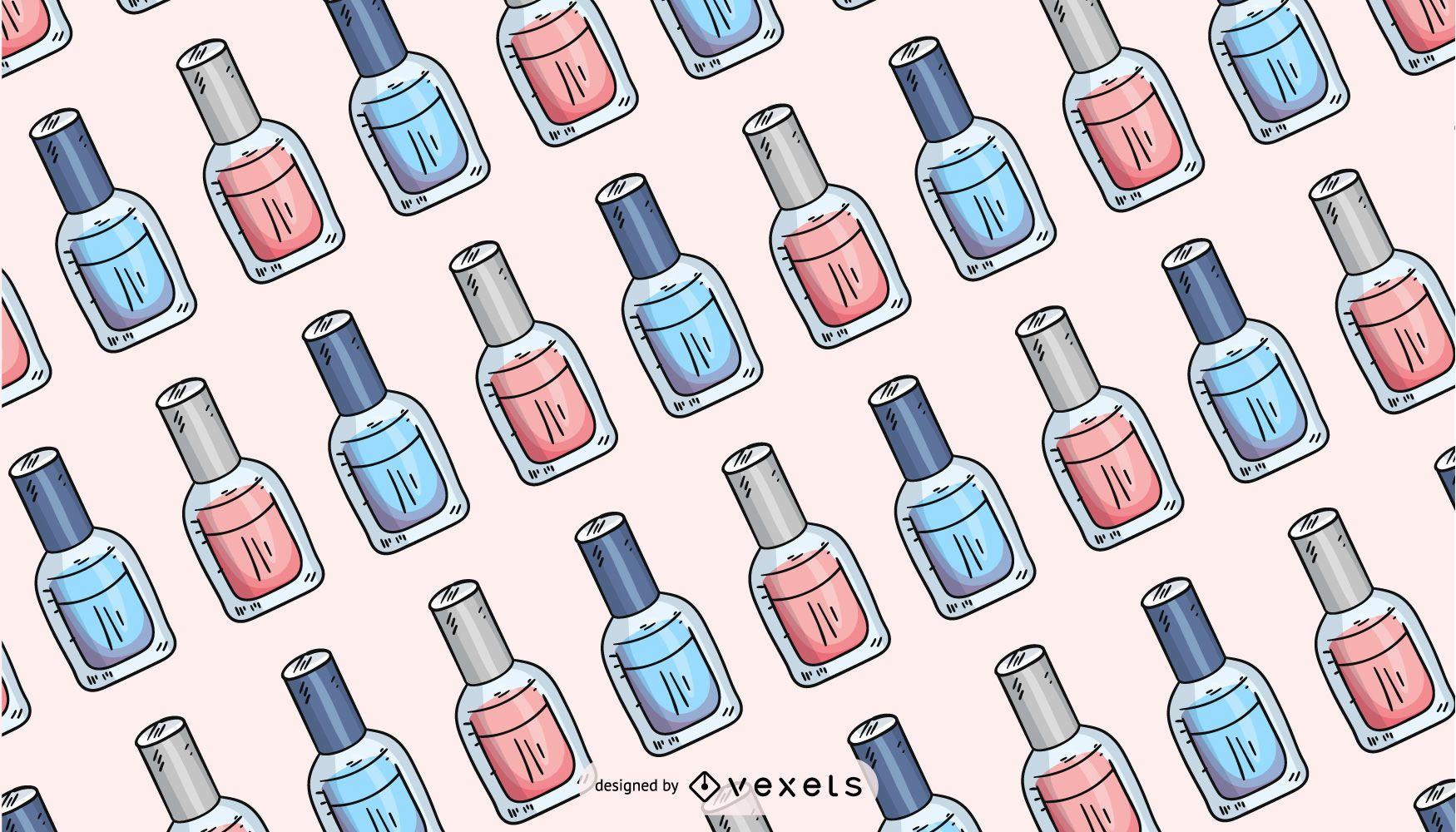 Diseño de patrón de esmalte de uñas