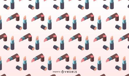 Isometric lipstick pattern design