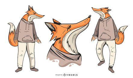 Fox character set