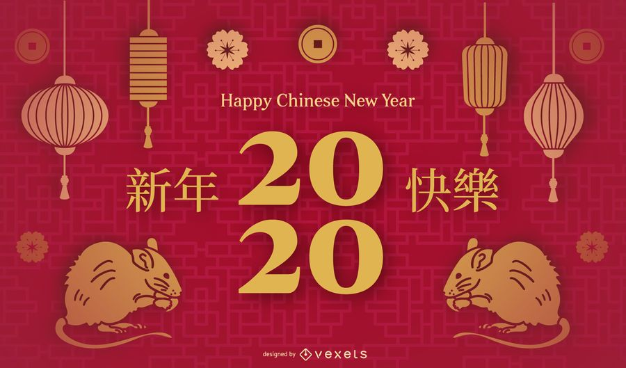 Chinese new year slide template
