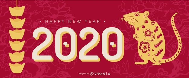 Controle deslizante papercut do ano novo chinês
